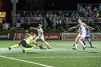 Boston, MA - Friday August 04, 2017: Nicole Barnhart during a regular season National Women's Soccer League (NWSL) match between the Boston Breakers and FC Kansas City at Jordan Field.