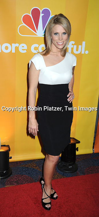 """Cheryl Hines of """"School Pride"""" posing for photographers at the NBC Universal's Upfront presentation of the 2010-2011 Season on May 17, 2010 at The New York Hilton Hotel in New York City."""