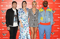 Danny Jones, Jessie J, Pixie Lott and will.i.am at the Voice Kids UK 2019 Photocall held at The Royal Society of Arts, London on June 6th 2019<br /> CAP/ROS<br /> ©ROS/Capital Pictures