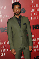 www.acepixs.com<br /> April 18, 2017  New York City<br /> <br /> Jussie Smollett attending 'The Immortal Life of Henrietta Lacks' premiere at SVA Theater on April 18, 2017 in New York City.<br /> <br /> Credit: Kristin Callahan/ACE Pictures<br /> <br /> <br /> Tel: 646 769 0430<br /> Email: info@acepixs.com