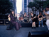 ACDC Perform on The Howard Stern Movie Bryant Park New York in 1996