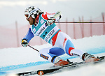 December 4, 2011:  Switzerland's Marc Berthod in action during the Giant Slalom at the Audi Birds of Prey FIS World Cup ski championships at Beaver Creek Ski Resort, Colorado.