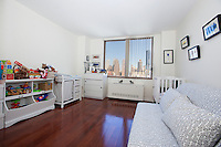 Bedroom at 350 West 50th Street