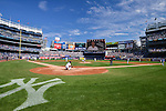 General view, SEPTEMBER 13, 2015 - MLB : Masahiro Tanaka of the New York Yankees pitches before the fourth inning during the Major League Baseball game against the Toronto Blue Jays at Yankee Stadium in the Bronx, New York, United States. (Photo by Hiroaki Yamaguchi/AFLO)