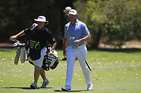 Lee Westwood (ENG) in action on the 1st during Round 2 of the ISPS Handa World Super 6 Perth at Lake Karrinyup Country Club on the Friday 9th February 2018.<br /> Picture:  Thos Caffrey / www.golffile.ie<br /> <br /> All photo usage must carry mandatory copyright credit (&copy; Golffile   Thos Caffrey)