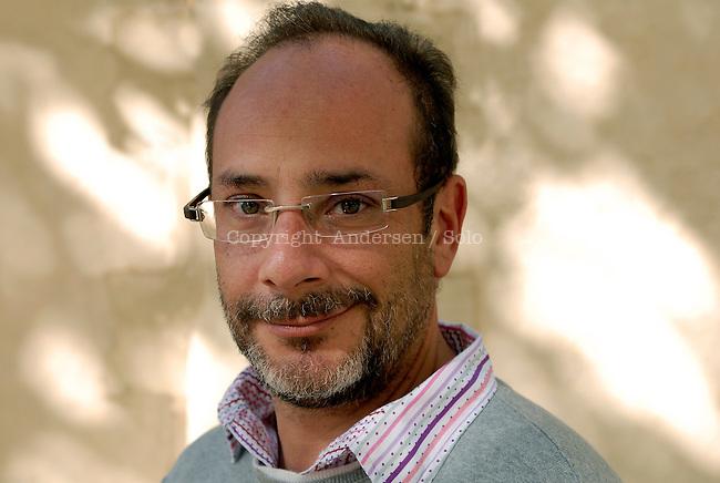 Mexican writer Ignacio Padilla. Aix en Provence, October 15, 2011 - © Ulf Andersen