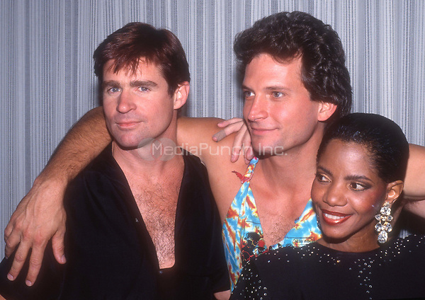 Treat Williams Rex Smith Melba Moore 1986<br /> Photo By John Barrett/PHOTOlink.net /MediaPunch