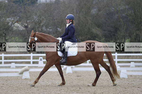 Class 3. Novice 28. Team Dressage. Brook Farm Training Centre. Essex. 13/02/2016. MANDATORY Credit Garry Bowden/Sportinpictures - NO UNAUTHORISED USE - 07837 394578