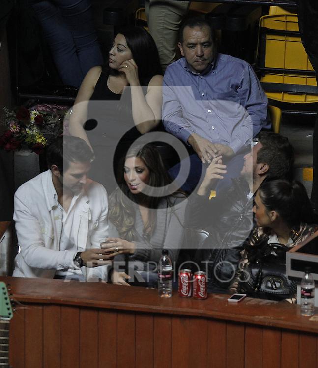 Alejandro Fernadez durante su concierto en el palenque de la Feria de Leon 2013 , Guanajuato el 1 de febrero del 2013....(*Foto:TiradorTercero/NortePhoto*) ***..Duilio Davino  ex futbolista mexicano acompañado de una mujer en el palenque