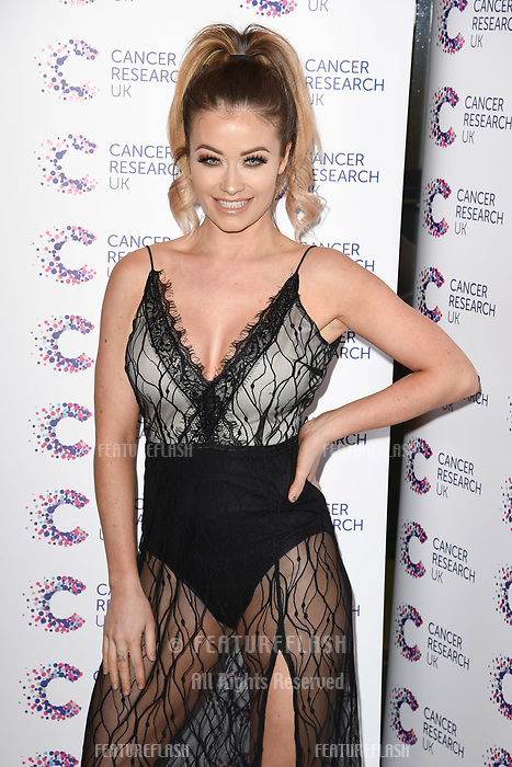 Jess Impiazzi arriving at James Ingham&rsquo;s Jog On to Cancer, in aid of Cancer Research UK at The Roof Gardens in Kensington, London.  <br /> 12 April  2017<br /> Picture: Steve Vas/Featureflash/SilverHub 0208 004 5359 sales@silverhubmedia.com