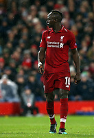 Liverpool's Sadio Mane<br /> <br /> Photographer Rich Linley/CameraSport<br /> <br /> UEFA Champions League Round of 16 First Leg - Liverpool and Bayern Munich - Tuesday 19th February 2019 - Anfield - Liverpool<br />  <br /> World Copyright © 2018 CameraSport. All rights reserved. 43 Linden Ave. Countesthorpe. Leicester. England. LE8 5PG - Tel: +44 (0) 116 277 4147 - admin@camerasport.com - www.camerasport.com