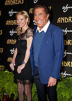 LAS VEGAS, NV - January 16 : Andrea Hissom and Steve Wynn pictured at the grand opening of Andrea's at Encore at Wynn Las Vegas in Las Vegas, Nevada on January 16, 2013. Credit: Kabik/Starlitepics/MediaPunch Inc. /NortePhoto