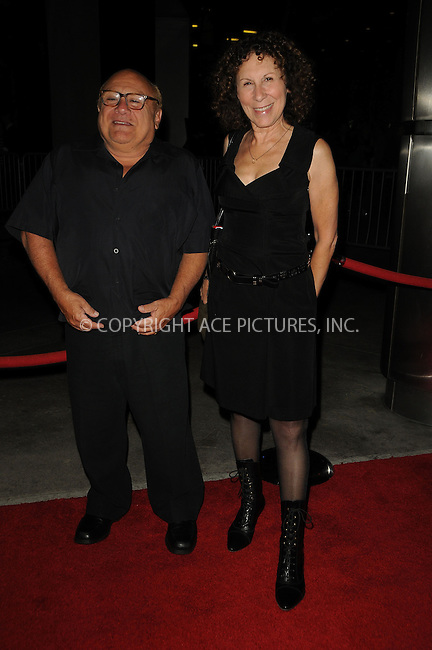 WWW.ACEPIXS.COM . . . . .  ....September 13 2011, New york City....Danny DeVito and Rhea Perlman arriving at the FX Premiere for 'It's Always Sunny In Philadelphia' and 'The League' at ArcLight Cinemas Cinerama Dome on September 13, 2011 in Hollywood, California.....Please byline: PETER WEST - ACE PICTURES.... *** ***..Ace Pictures, Inc:  ..Philip Vaughan (212) 243-8787 or (646) 679 0430..e-mail: info@acepixs.com..web: http://www.acepixs.com
