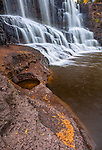 Gooseberry Falls State Park, Minnesota: Middle falls of Gooseberry Falls