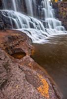 Gooseberry Falls State Park, Minnesota: Middle falls of Gooseberry Falls