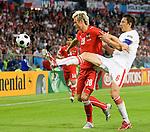 Roman Kienast and Jacek Bak at Euro 2008 Austria-Poland 06122008, Wien, Austria