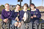 Barr Na Srai?de branch of Comhaltas Ceolto?iri? Eireann are preparing to welcome the Comhaltas Tour to Cahersiveen this month .Pictured L-R are the youth members Caroline Moriarty, Jemma Musgrave, Shauna Murphy and Aoife Murphy