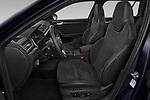 Front seat view of 2020 Skoda Superb-Combi Sportline 5 Door Wagon Front Seat  car photos
