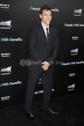 """Will Gluck at the New york Premiere of """"Friends With Benefits"""" held at the Ziegfeld Theater on July 18, 2011. Credit: Dennis Van Tine/MediaPunch"""