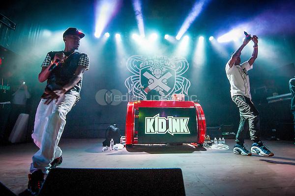DETROIT, MI - APRIL 25: Kid Ink performs at Saint Andrews Hall on April 25, 2014 in Detroit, Michigan. Photo Credit: RTNSchwegler/MediaPunch