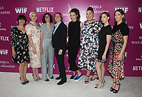 LOS ANGELES, CA - MAY 12: Rebekka Johnson, Kimmy Gatewood, Carly Mensch, Cindy Holland, Liz Flahive, Britney Young, Alison Brie, Jackie Tohn, at Netflix - Rebels And Rules Breakers For Your Consideration Event at Netflix FYSee Space At Raleigh Studios in Los Angeles, California on May 12, 2018. <br /> CAP/MPI/FS<br /> &copy;FS/MPI/Capital Pictures