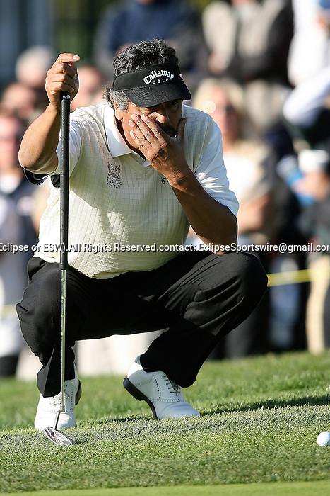 March 08, 2009 Newport Beach, CA: Eduardo Romero during the final round of the Toshiba Classic, held at the Newport Beach Country Club.