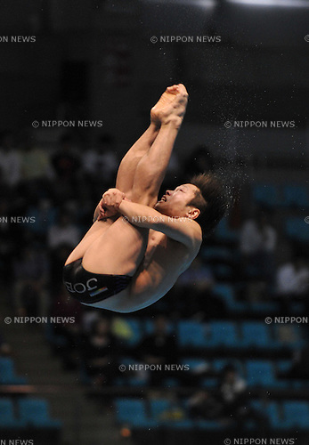 Kazuki Murakami, APRIL 2, 2010 - Diving : 2011 Diving representative selection match for international competitions, Men's 3 meter springboard  at Sagamihara Green Pool in Kanagawa, Japan. (Photo by Atsushi Tomura/AFLO SPORT) [1035].
