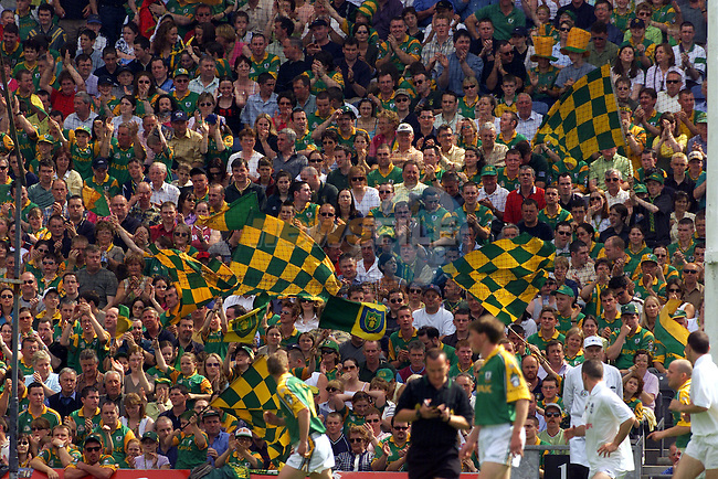 Meath fans at Croke Park..Picture: Paul Mohan/Newsfile