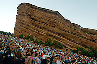 Red Rocks Amphitheater in Morrison, Colorado, USA...PHOTOS/ MATT NAGER