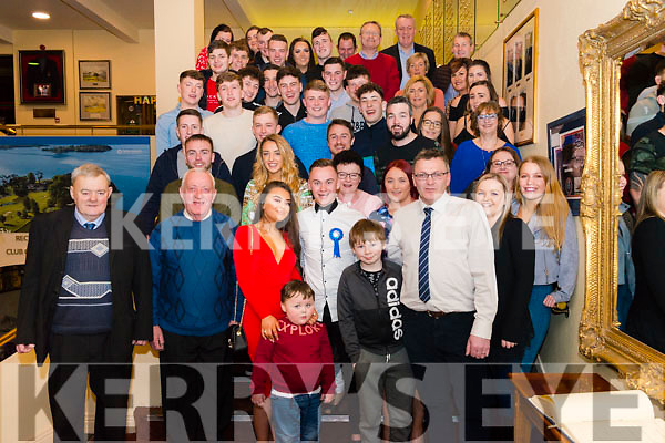 Michael O'Keeffe from Aghadoe, Killarney celebrated his 21st birthday surrounded by friends and family in the Killarney Golf and Fishing Club last Saturday night.