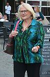 ©www.agencepeps.be/ F.Andrieu - A. Rolland - Belgique -Namur - 131003 - Josiane Balasko dans les rues de Namur. Elle etait présente pour le Festival Internationnal du Film Francophone.