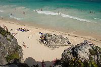 02.2012 Tulum (Mexico)<br /> <br /> Plage de Tulum.<br /> <br /> Tulum beach.