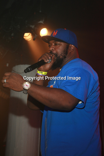 Sean Price Performs at Boost Mobile in association with Guerilla Union Presents An East Coast ROCK THE BELLS FESTIVAL SERIES Press Conference and Fan Appreciation Party at Santos Party House, NY D. Salters/WENN 6/13/12