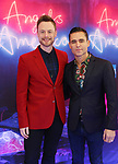 "Christopher Wheeldon and guest attends the Broadway Opening Night Arrivals for ""Angels In America"" - Part One and Part Two at the Neil Simon Theatre on March 25, 2018 in New York City."