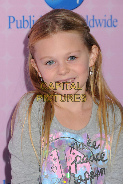 "Isabella Cramp.""Sofia The First: Once Upon A Princess"" Los Angeles Premiere held at Walt Disney Studios, Burbank, California, USA, 10th November 2012..portrait headshot grey gray .CAP/ADM/BP.©Byron Purvis/AdMedia/Capital Pictures."