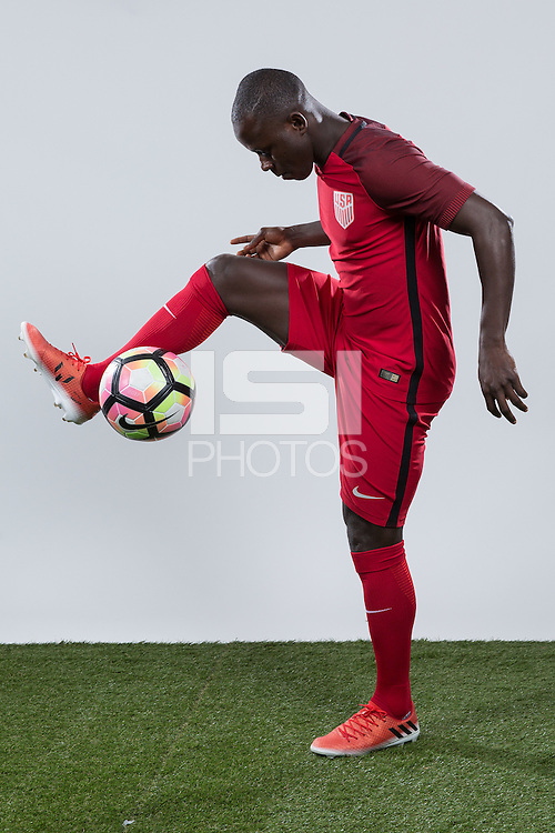 Carson, CA - January 15, 2017: USMNT Photoshoot at StubHub Center.