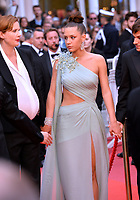 """CANNES, FRANCE. May 24, 2019: Justine Triet & Adele Exarchopoulos at the gala premiere for """"Sybil"""" at the Festival de Cannes.<br /> Picture: Paul Smith / Featureflash"""