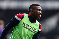 Bolton Wanderers' Sammy Ameobi pictured before the match <br /> <br /> Photographer Andrew Kearns/CameraSport<br /> <br /> The EFL Sky Bet Championship - Derby County v Bolton Wanderers - Saturday 13th April 2019 - Pride Park - Derby<br /> <br /> World Copyright &copy; 2019 CameraSport. All rights reserved. 43 Linden Ave. Countesthorpe. Leicester. England. LE8 5PG - Tel: +44 (0) 116 277 4147 - admin@camerasport.com - www.camerasport.com