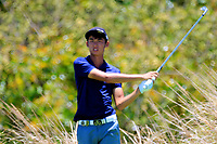 Micah Lauren Shin (USA) in action during the first round of the Afrasia Bank Mauritius Open played at Heritage Golf Club, Domaine Bel Ombre, Mauritius. 30/11/2017.<br /> Picture: Golffile | Phil Inglis<br /> <br /> <br /> All photo usage must carry mandatory copyright credit (&copy; Golffile | Phil Inglis)