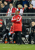 07 May 2011: Toronto FC head coach Aron Winter watches during an MLS game between the Houston Dynamo and the Toronto FC at BMO Field in Toronto, Ontario..Toronto FC won 2-1.