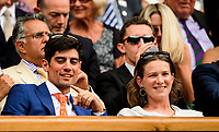 AMBIENCE - ALISTAIR COOK (CRICITER)<br /> <br /> TENNIS - THE CHAMPIONSHIPS - WIMBLEDON- ALL ENGLAND LAWN TENNIS AND CROQUET CLUB - ATP - WTA -ITF - WIMBLEDON-SW19, LONDON, GREAT  BRITAIN- 2017  <br /> <br /> <br /> &copy; TENNIS PHOTO NETWORK
