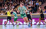 Stockholm 2014-10-22 Handboll Elitserien Hammarby IF - IK S&auml;vehof :  <br /> Hammarbys Johan Kvarnefalk jublar efter att ha gjort ett m&aring;l under matchen mellan Hammarby IF och IK S&auml;vehof <br /> (Foto: Kenta J&ouml;nsson) Nyckelord:  Eriksdalshallen Hammarby HIF HeIF Bajen IK S&auml;vehof jubel gl&auml;dje lycka glad happy