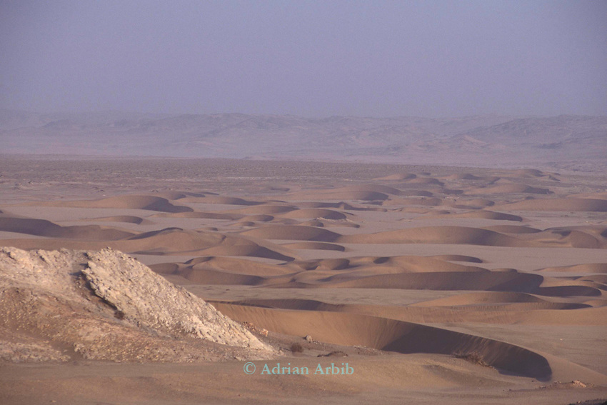 The Namib Naukluft desert. This area is owned by De Beers and is completely restricted. It is said that diamonds can be found lying around on the surface of the ground.
