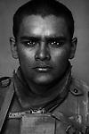 Cpl. Joshua Cisneros, 21, Lubbock, Texas. 2nd Platoon, Kilo Co., 3rd Battalion 1st Marines. Haditha. Oct. 22, 2005.