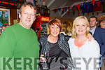 Tom and Caroline Martin and Ann houlihan at the Con Houlihan festival in Castleisland RFC on saturday night