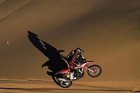 5th January 2020, Jeddah, Saudi Arabia;  07 Benavides Kevin arg, Honda, Monster Energy Honda Team during Stage 1 of the Dakar 2020 between Jeddah and Al Wajh, 752 km - Editorial Use