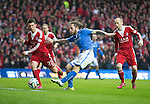 St Johnstone v Aberdeen...13.04.14    William Hill Scottish Cup Semi-Final, Ibrox<br /> Stevie May scores his first goal<br /> Picture by Graeme Hart.<br /> Copyright Perthshire Picture Agency<br /> Tel: 01738 623350  Mobile: 07990 594431