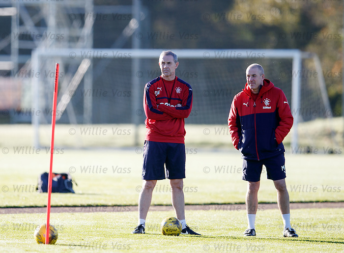 David Weir and Mark Warburton