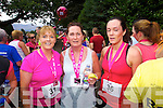 Eileen Brennan (Castleisland) Marie Hickey (Knocknagoshel) and Miriam Brosnan (Knocknagoshel) who took part in the Killarney Women's Mini Marathon on Saturday last.