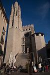 Saint Feliu Church in Girona, Catalonia, Spain